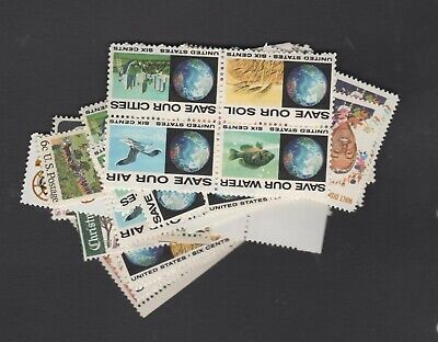 Discount Postage ---  Lot of 100 --- 6¢ Issues --- Face $6.00