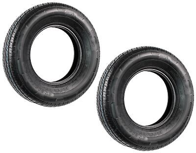 2-Pack Radial Trailer Tires ST205/75R14 ST 205/75 R 14 in. Load Range C Tire