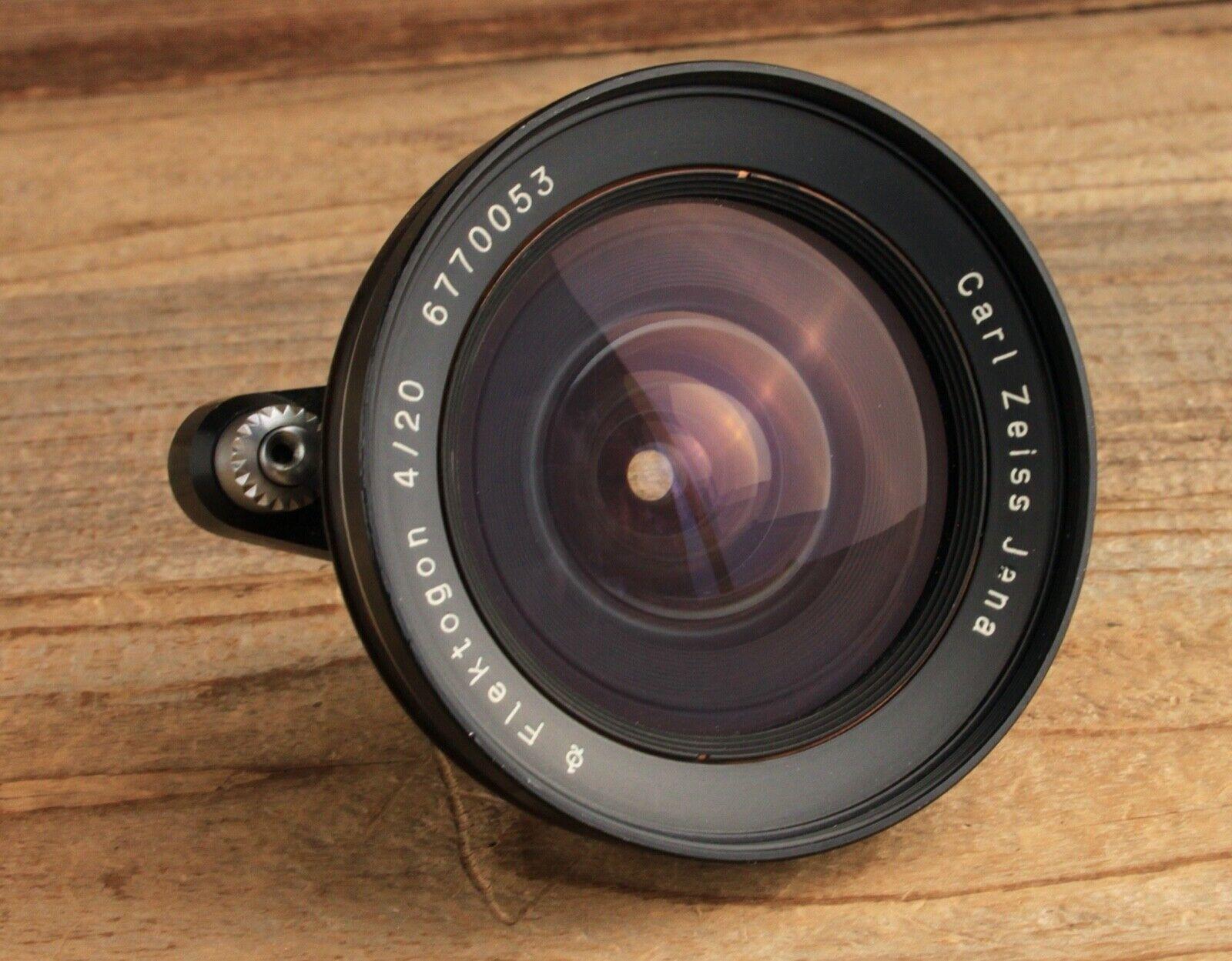 Vintage Carl Zeiss Flektogon F4 20mm Exakta Mount Camera Lens - $189.50