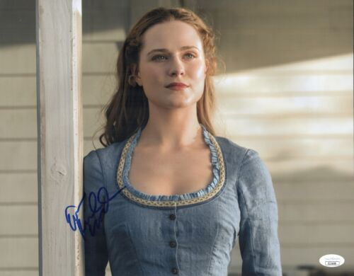 EVAN RACHEL WOOD Signed 11x14 Photo WESTWORLD In Person Autograph JSA COA Cert