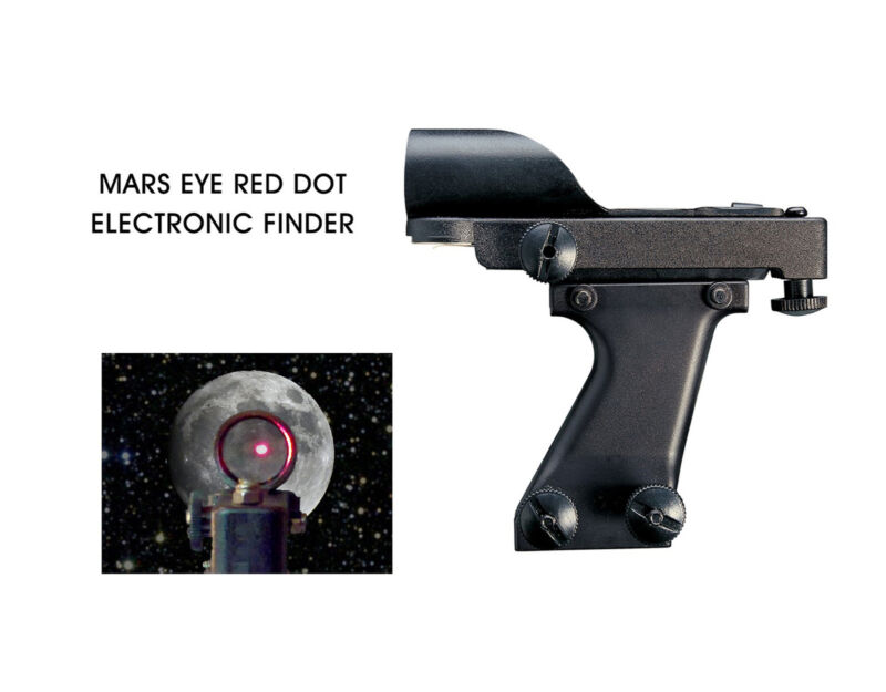 Cassini MEH - HIGH PROFILE RED-DOT FINDERSCOPE & BASE FOR TELESCOPE