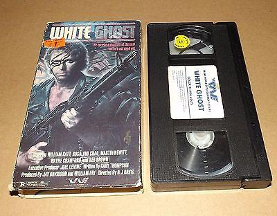 White Ghost Vhs Video William Katt Trans World Entertainment