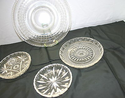Tortenteller Glas Ø 30 cm Glasteller Kuchenplatte