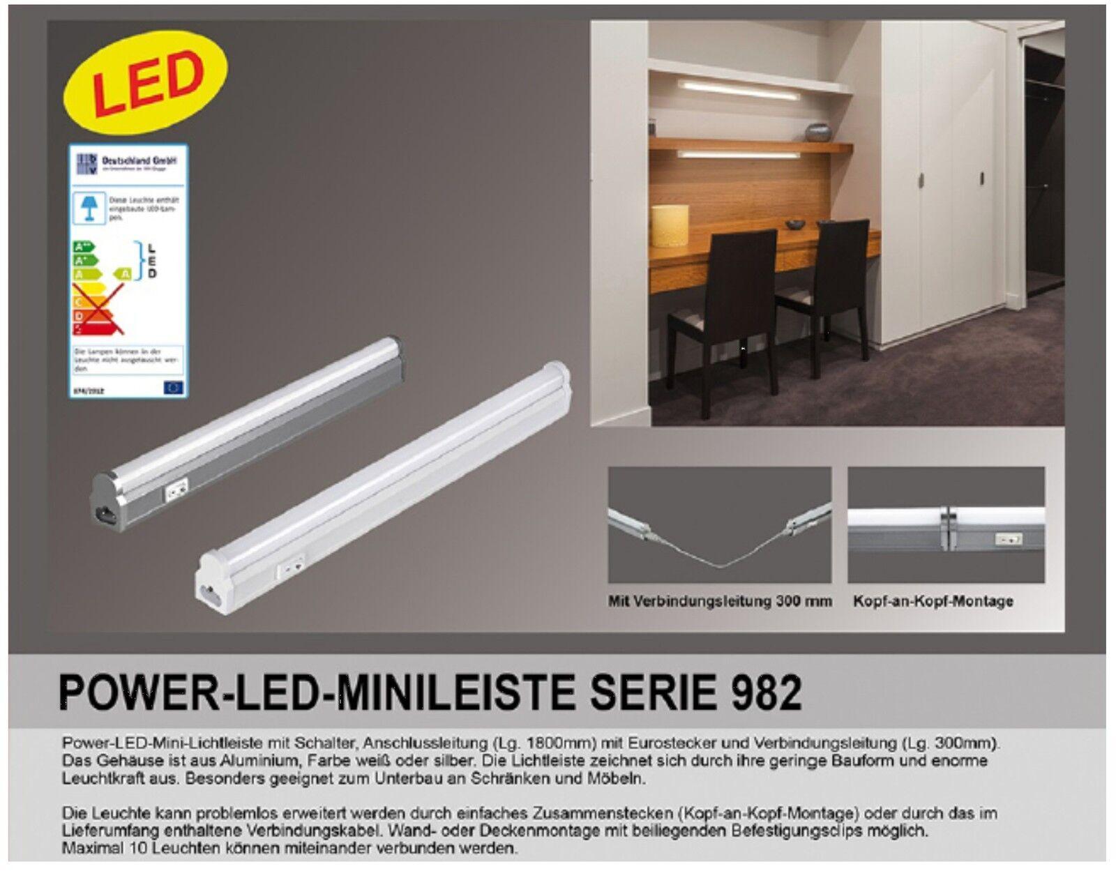 Unterbauleuchte-LED-87cm-Alu-Kuche-Lichtleiste-Mini-fur-_57 Erstaunlich Unterbauleuchte Led Mit Steckdose Dekorationen