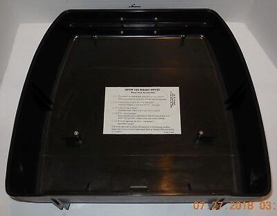 Hard Case Lid Replacement For Sears Type Writer The Electric 1 Model 161.55210
