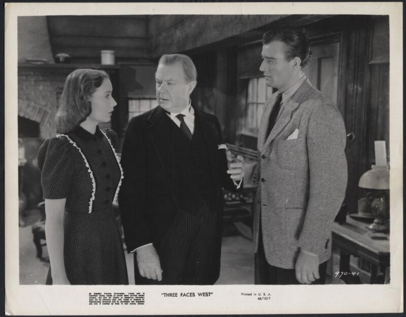 Three Faces West '48 SIGRID GURIE CHARLES COBURN JOHN WAYNE