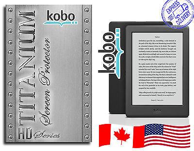 Kobo eReader Mini Touch Aura Glo Titanium Screen Protectors