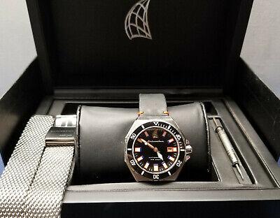 Spinnaker 44mm Dumas Automatic 300-Meter Dive Watch with Luminous Bezel Bezel Automatic Dive Watch