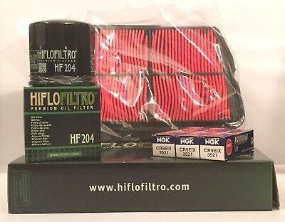TRIUMPH TIGER 800 11 TO 17 SERVICE KIT AIR  OIL FILTER IRIDIUM SPA