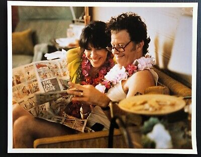 LILY TOMLIN and TOM WAITS in Robert Altman's SHORT CUTS (1993) color 8x10 (Lily And Tom)