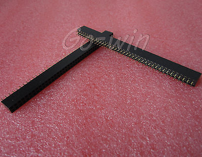 30Pcs 2.54mm 2* 40 Pin Female Double Row Pin Header Strip New High quality on Rummage