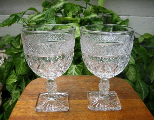 Lot of (2) Cape Cod Imperial Glass 14 oz Goblets MAGNUM 160