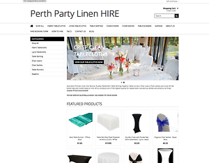 Perth Party Linen Hire Business For Sale Palmyra Melville Area Preview