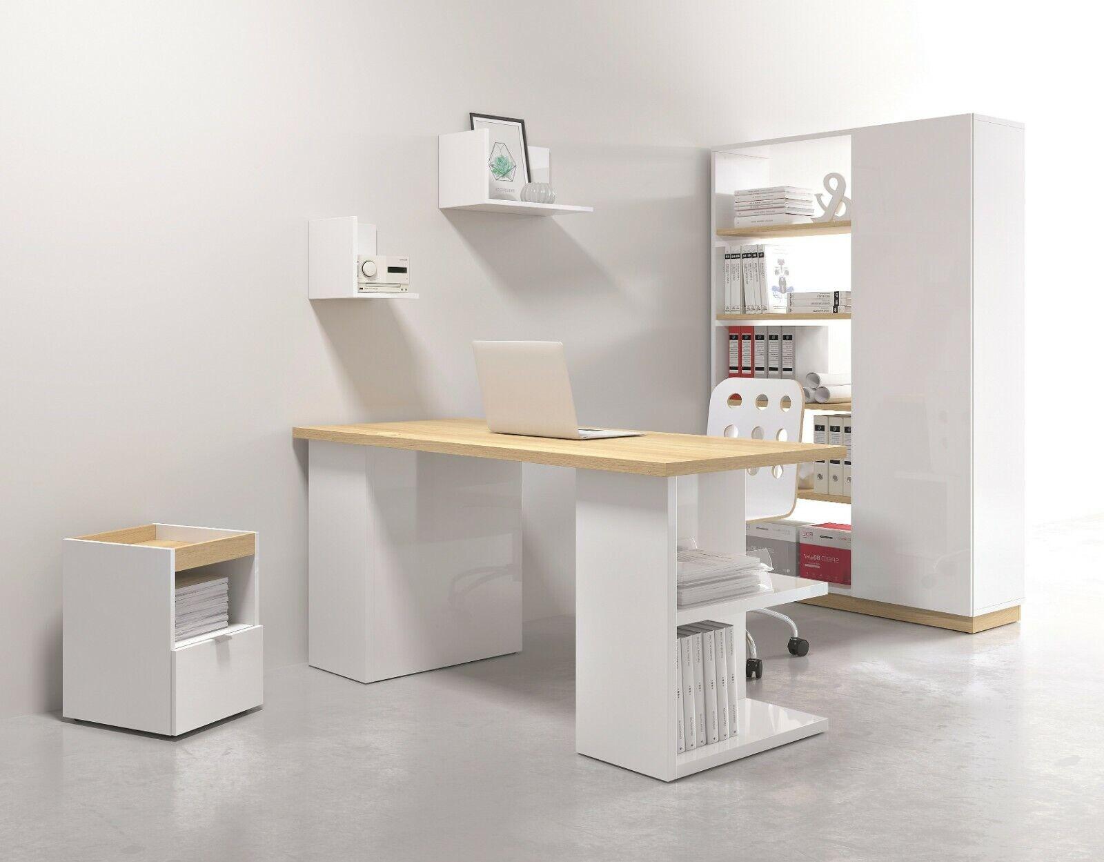 Office Study 5 Piece Furniture Set Desk