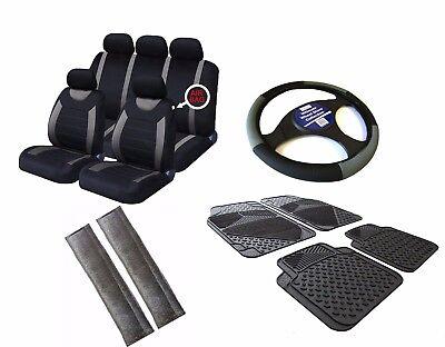 Citroen Saxo Black /& Blue Sports Grip Steering Wheel Cover Glove 37cm