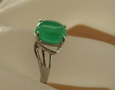 JADE- Ring VII, 925er Silber, GR. 16,5