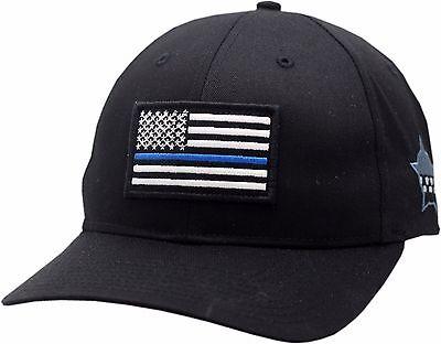Chicago Police Memorial Foundation Adjustable Hat American Flag Blue Line