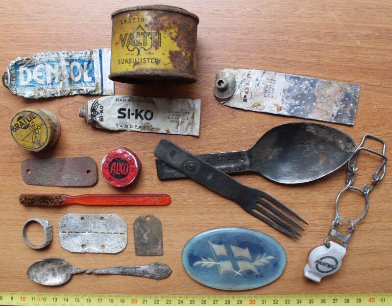 Finnish items Karelia WW2 RELIC