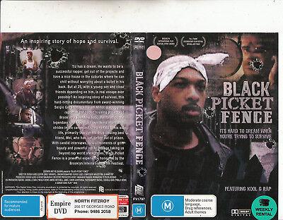002-Hip Hop Film Documentary-Movie-DVD (Black Picket Fence)