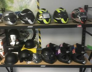15 BRAND NEW MOTORCYCLE HELMET LOT!! Canning Vale Canning Area Preview