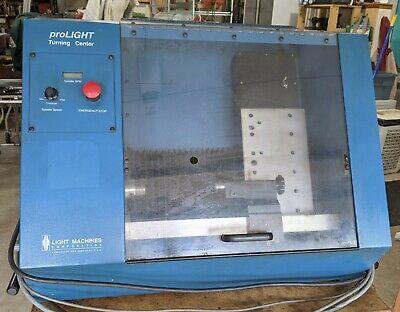 Intelitek Light Machines Prolight 3000 Cnc Lathe W Tailstock E20u