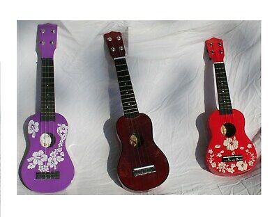 Leolani Hawaii OMI International - Set of 3 Student Ukeles Sopranissimo/Acoustic