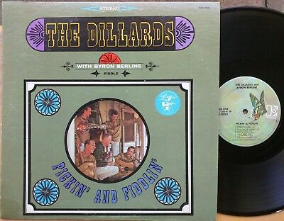 (BLUEGRASS FIDDLE LP: THE DILLARDS WITH BYRON BERLINE Pickin' and Fiddlin')