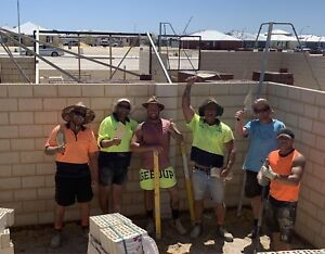 Bricklayer $550 per day
