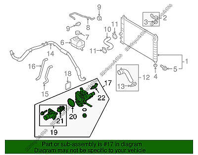 2011 chevy aveo engine diagram thermostat wiring diagram details about coolant thermostat housing for 2009 2011 chevrolet aveo aveo5 pontiac g3 1 6l2011 chevy