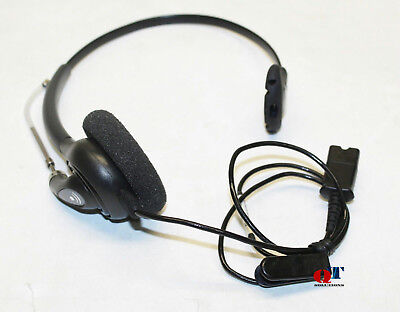 NEW Plantronics EncorePro Monaural Ear-Hook Head-Band Headset HW540D ‎203194-01