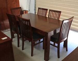 Madrid 7 Piece Dining Setting (Ex-Demo) #3025 Beverley Charles Sturt Area Preview