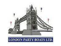 Bar Staff Required for a Busy Party Boat Company
