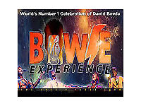 2 tickets Bowie Experience, Theatre Royal Norwich, Sunday 26 November 2017 7.30pm