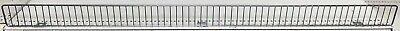 Front Fence Gondola Shelving Chrome Edging Usa Made 48x3 Shelf Lot Of 20