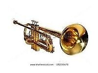 Trumpet, Sax or any old, broken or unwanted Brass Instruments
