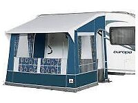 Dorema Porch Awning for Caravan. Nearly new.