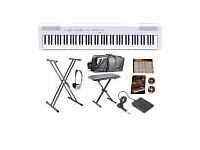 Almost New Yamaha P115WH Portable Piano for sale
