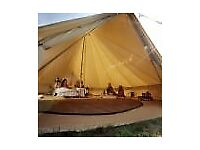*** 5 Metre Coir Matting for Bell Tents in Half Moon Shapes ***