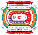 2015 - 2016 Calgary Flames Tickets - Various Games