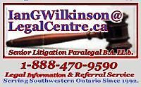 Paralegal Services - Woodstock ON
