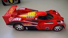 Red Hot Wheel - Toy State Nitro Charger Remote Control Car
