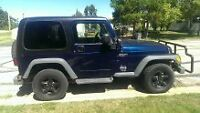 2005 Jeep TJ Sport **PRICE REDUCED**