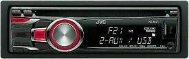Cd player jvc usb slot aux in