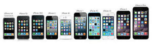 BRAND NEW & GENTLY USED APPLE IPHONE ALL MODELS ALL SIZES *SALE*