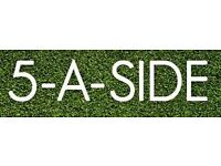 Friendly 5-a-side in Beckenham, SE London - any age/standard welcome