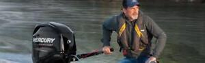 New Mercury 50 -4 stroke tiller priced to clear!