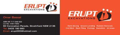 Erupt Bobcat and Excavation Strathfield Strathfield Area Preview