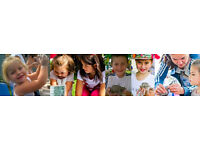 Volunteers for creative events for children and adults on art, environment, sustainability, nature