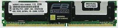 4GB DDR2 MEMORY RAM PC2-5300 ECC FULLY BUFFERED DIMM 240-PIN **FOR SERVERS** (Buffered 240 Pin Ddr2 Memory)