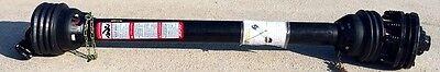Replacement Batwing Mower Pto Shaft 4-plate Slip Clutch - 43 6-spline Yokes